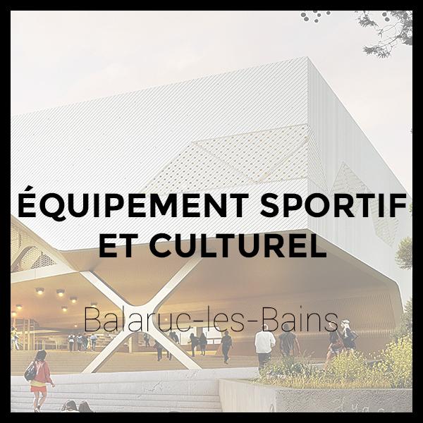 Équipement sportif et culturel - Balaruc-les-Bains