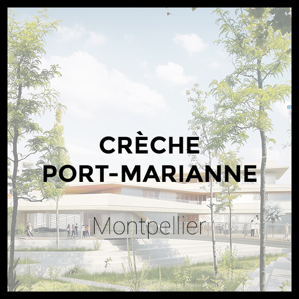 Crèche Port-Marianne - Montpellier
