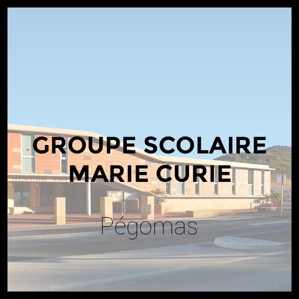 Groupe Scolaire Marie Curie - Pégomas